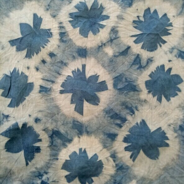 Shibori Dyeing Basics Workshop - 1pm to 4pm, Wednesday 23rd September