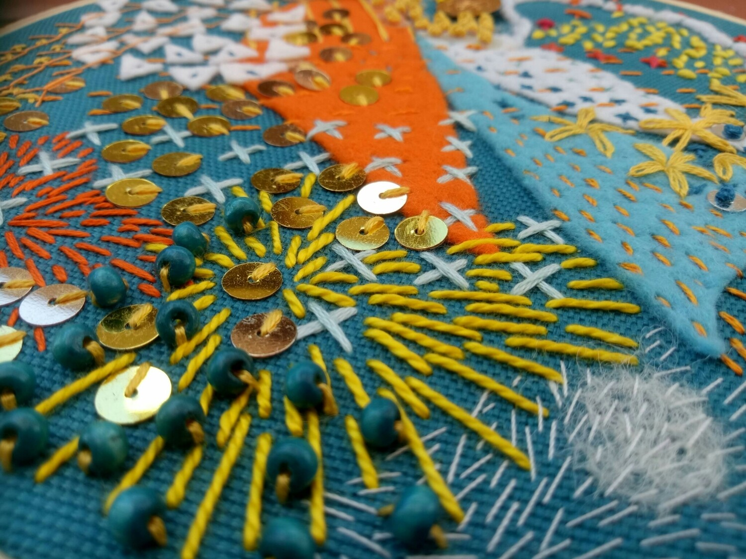 Abstract Embroidery - 1 to 4pm, Sunday 18th October
