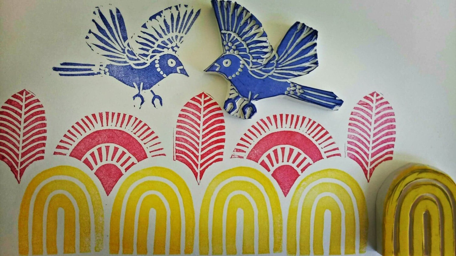 Stamp Making - Saturday 23rd October 1 to 3pm @ The Adelaide Remakery