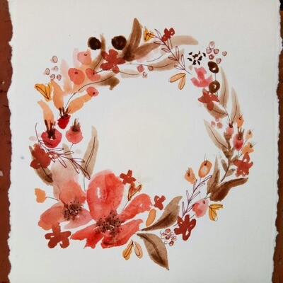 Watercolour Florals - Saturday 17th April 10am to 1pm @ The Adelaide Remakery
