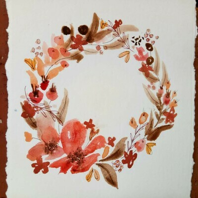 Watercolour Florals - Saturday 10th July 1 to 4pm @ The Adelaide Remakery