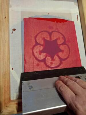 Screen Printing with Stencils - Saturday 9th October 1 to 4pm @ The Adelaide Remakery