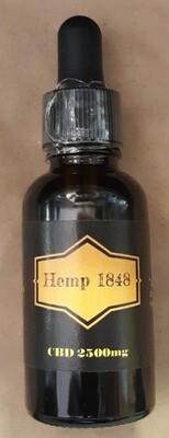 Hemp 1848 2500mg CBD Oil