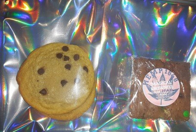 Delta-8 Brownies and Cookies
