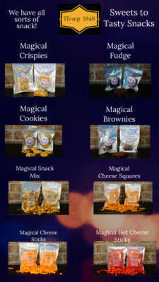 Magical delta-8 Cheese stick and other edibles