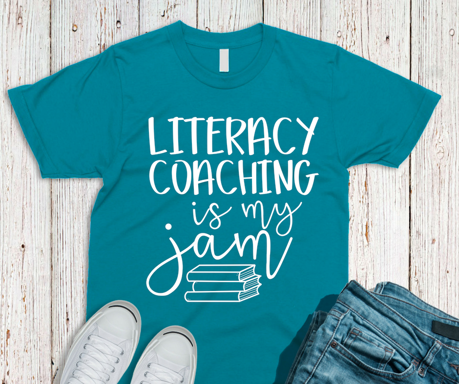 Literacy Coaching is my Jam Tee - Various Colors
