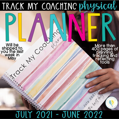 Track My Coaching Physical Planner PRE-SALE