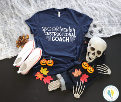Spooktacular Instructional Coach (White)- Various Colors