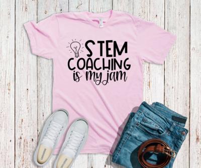 Stem Coaching is My Jam Coaching Tee - Various Colors