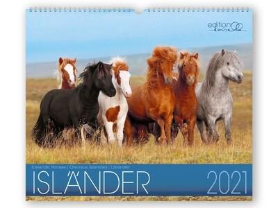 Kalender Isländer 2021