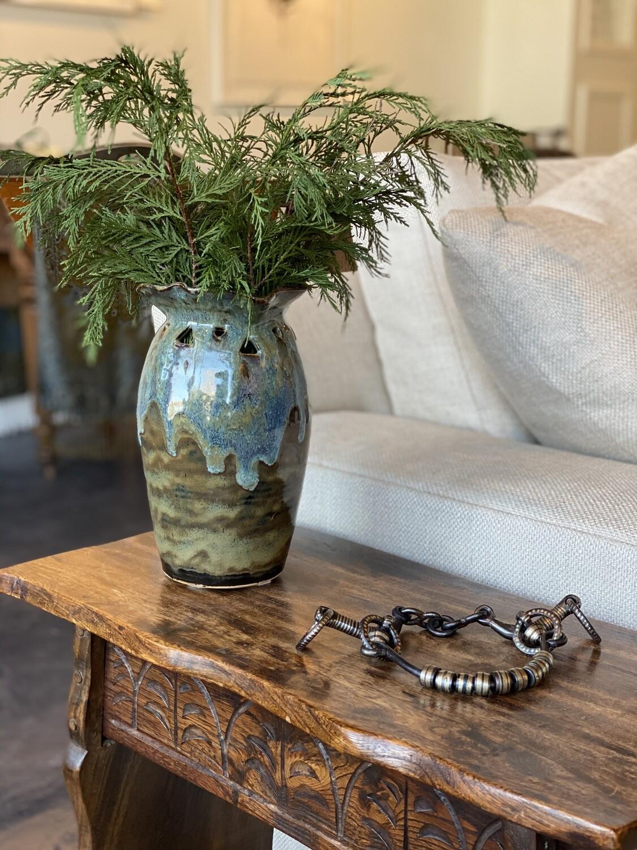 Hand Made Ceramic Vase- Local Aiken Artisan