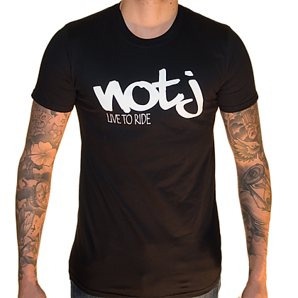 T-Shirt NOTJ Live To Ride