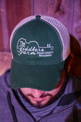 The Fiddler's Farm Hunter Green Baseball Cap