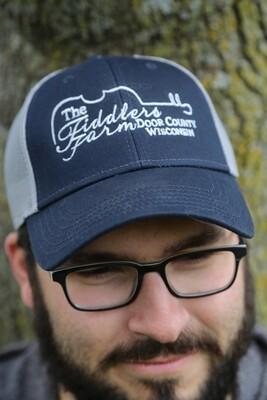Navy Mesh unisex Trucker Hat