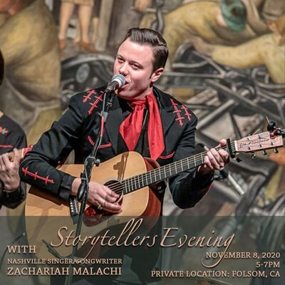 Storytellers Evening with Zachariah Malachi