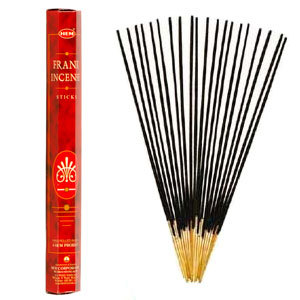 Frankincense Incense (20 Sticks) Hex Pack - HEM