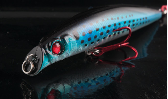 Bayrush Live darter minnow 90mm 10g bass lure new 2019