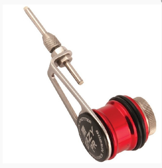 Eazy PR Bobbin Knotter. the best way too get 100% low profile braid to mono leader knots.