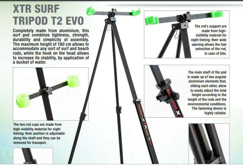 New XTR surf sandpod and Tripods  very light and strong   3 versions available from £11.99