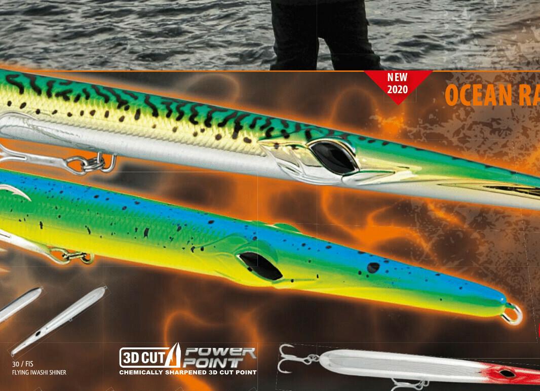 Rapture Ocean Razor Lure 180mm 23g Needlefish wtd lure for bass