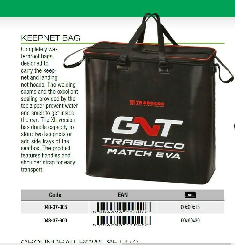 Trabucco keep net bag EVA extra large