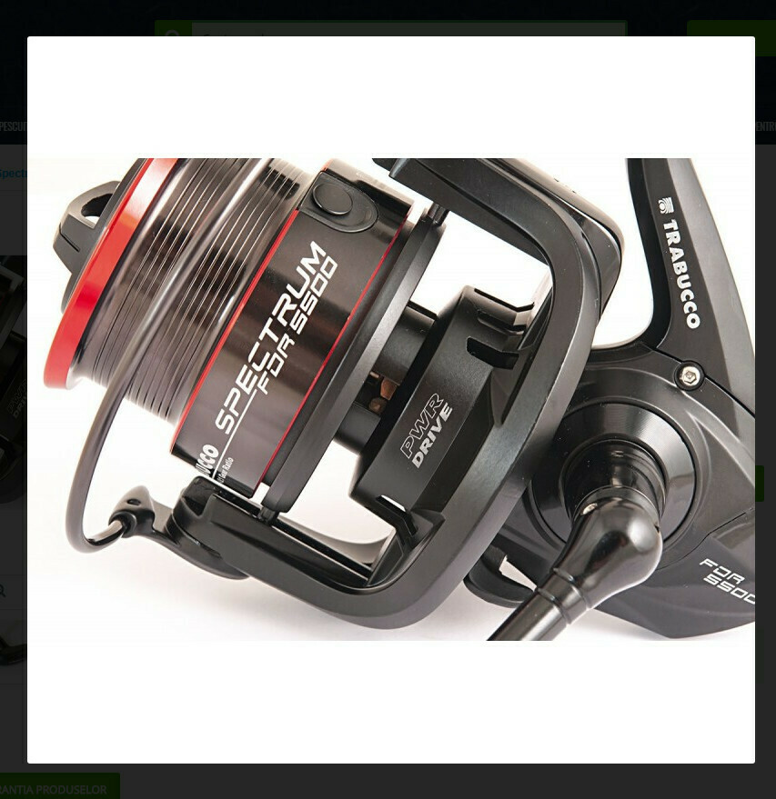 Trabucco Spectrum 5500 FDR feeder reel NEW 2021