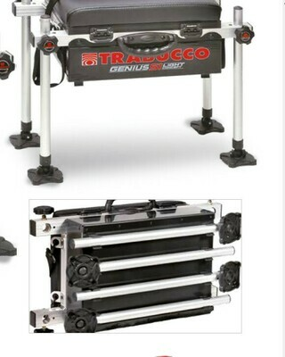Trabucco Genius Seat Box S1 Light for 25mm fittings