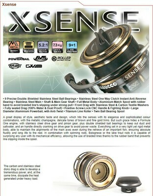 Trabucco X Sense 5000 hi tec Spinning Reel