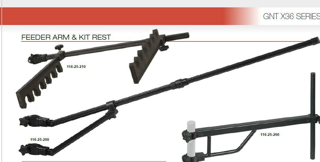 Feeder arm X36 FEEDER and match rest