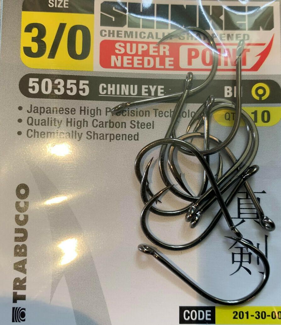 shrinken top range chinu hooks 50355 10pk