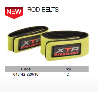 Rod band 2 per set    Velcro inner and soft material to prevent chafing