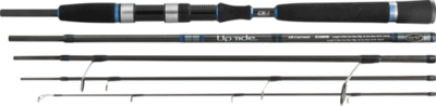 Travel Bass Spinning Rod Uptide x-current luxury hi spec 5 peice 28g 2.5m