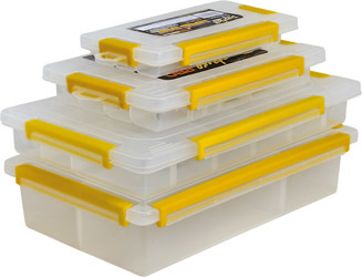 Lure boxes for soft plastics and rig bits  5 sizes
