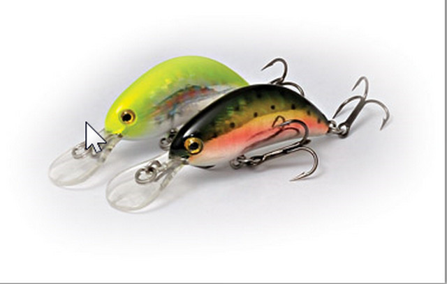 Hot Bean light lure fishing wobbler 40mm 3.5g