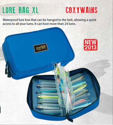 Coxwains Lure Bag XL Holds 24 Lures