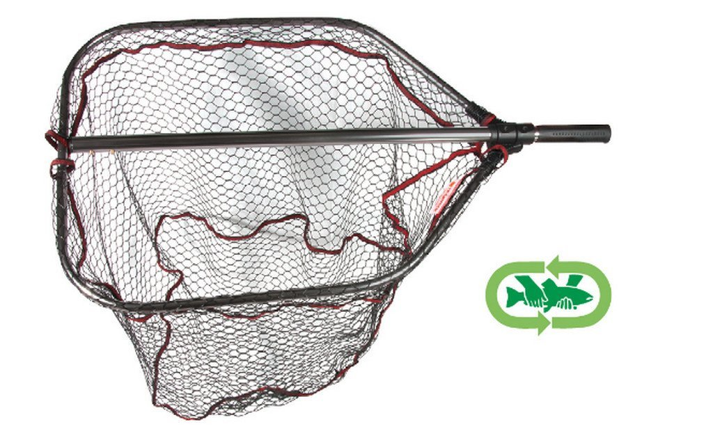 Agressor rubber net  foldable in two with  click fit   2 sizes available