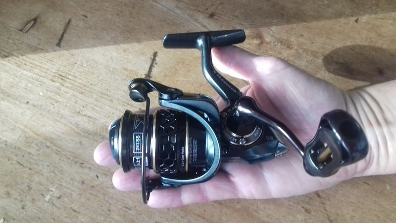 Xplore x light 1000 Ultralight lure fishing reel 7bb  7kg of drag