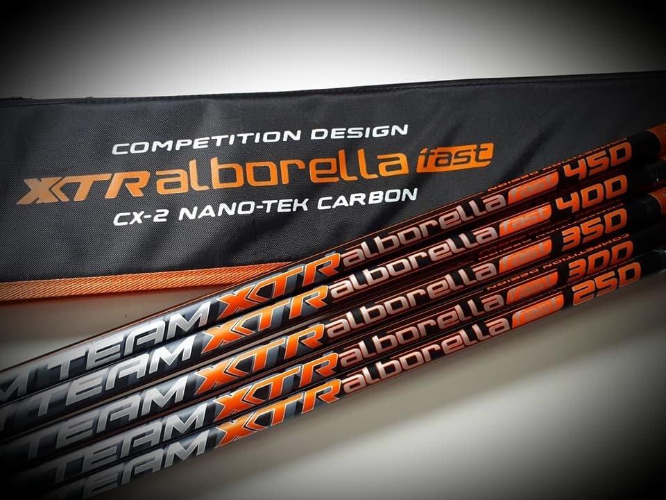 Whips 2.5 to 4.5m XTR Dream Team Alborella NEW 2020