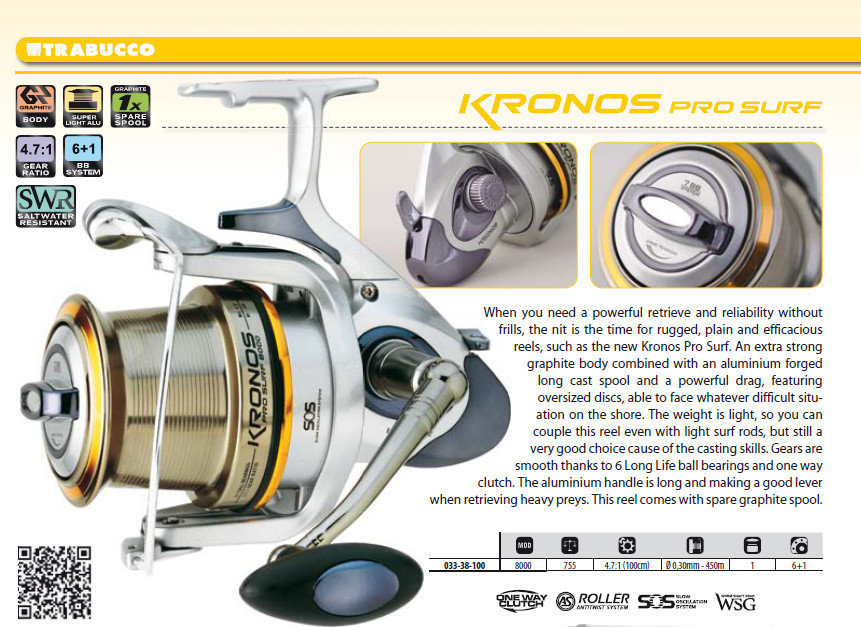 Kronos Pro Surf 8000 salt water protected.  very reliable