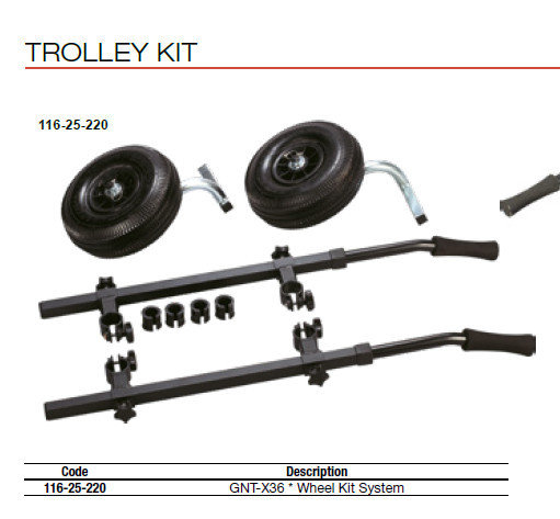 TROLLEY KIT  GNT X36  ex Italy