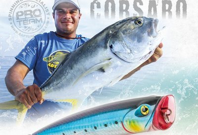Corsaro    Poppers lure for large and tropical fish 140mm