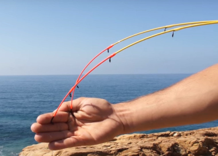 Bay reef special madai 2 flex tips 2.7m and 3.0m 100g 6lb class