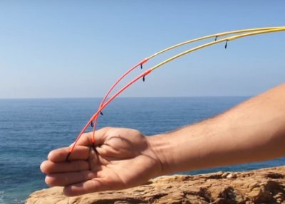 Bay reef special madai  2 flex tips  270  3.0m and 3.3m 100g 6lb class
