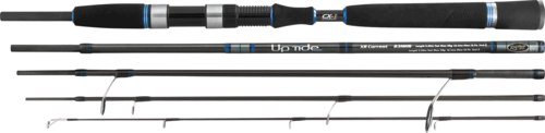 Travel Bass Spinning Rod Uptide x-current luxury hi spec 5 peice