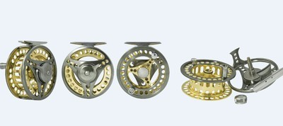 Guidemaster fly reels AMC 4 sizes available