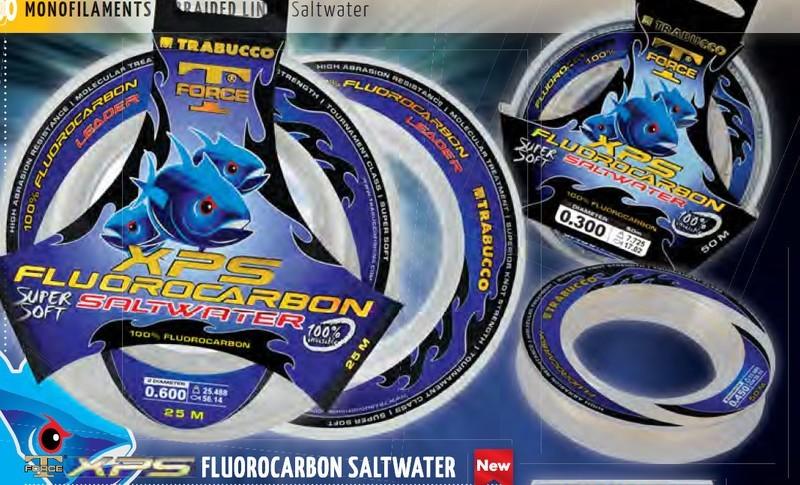 T FORCE XPS FLOUROCARBON SALT WATER LEADER