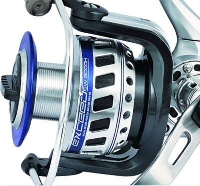 Trabucco exceed 5500H 20kg drag  330m PE 3  heavy duty spinning reel