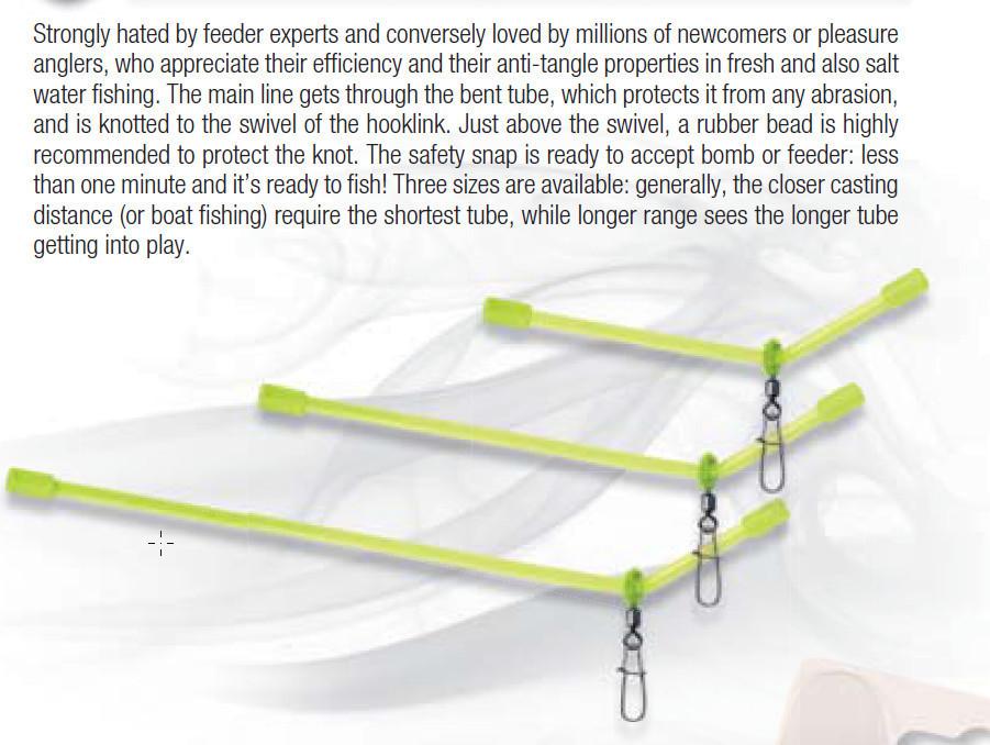 Heavy duty anti tangle tubes    2 per pack