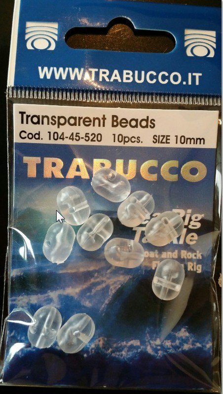 Transparent beads  cross over 3 way large semi oval shape  3 sizes  10pcs