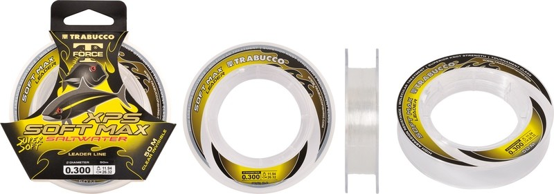 XPS Soft Max Leader 50m spools for rig bodies , leader line and traces sale price